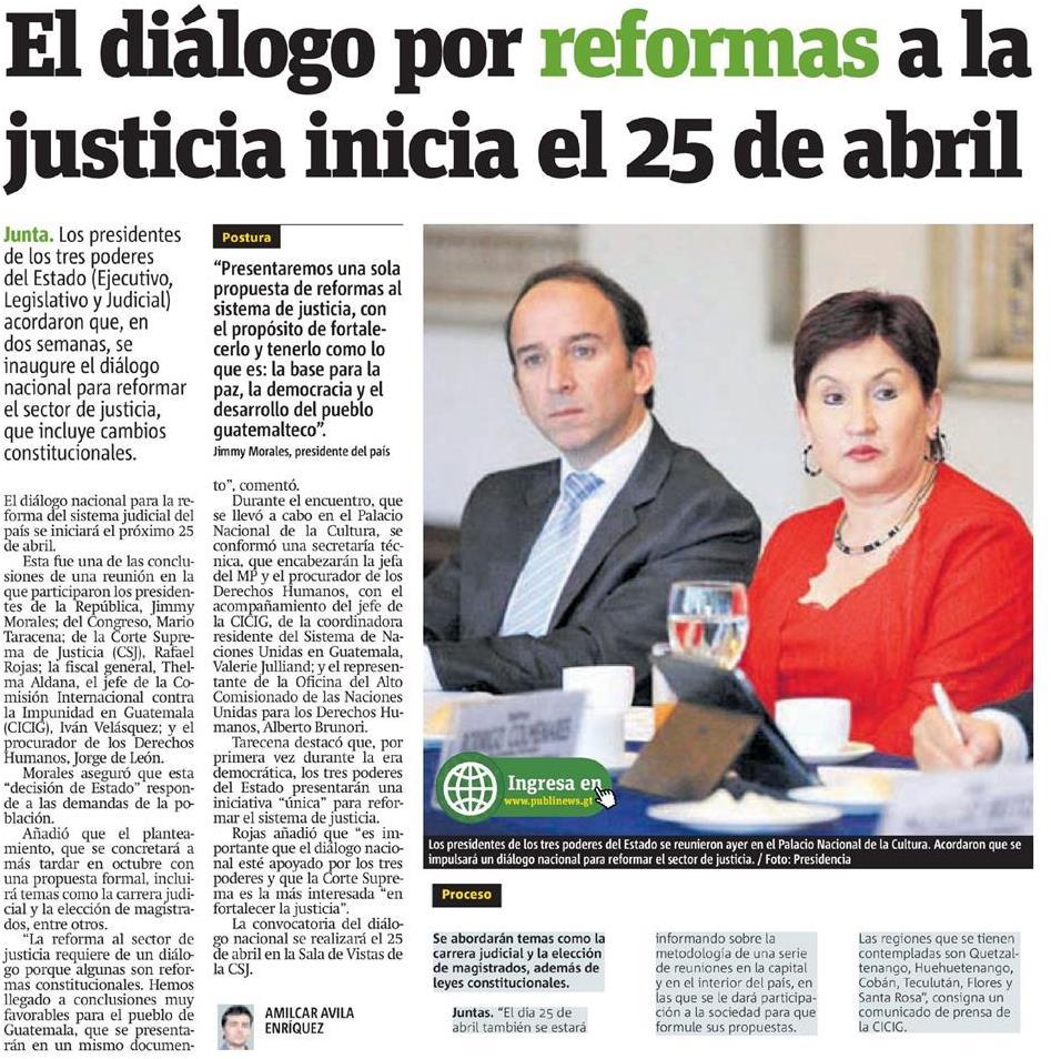noticias sobre democracia el pa s cicig comisi 243 n internacional contra la impunidad en