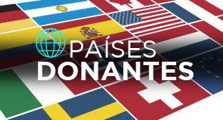 Países donantes