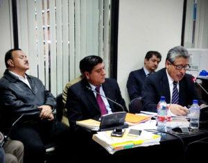 los exdiputados Mario Israel Rivera Cabrera y Jorge Arévalo Valdez