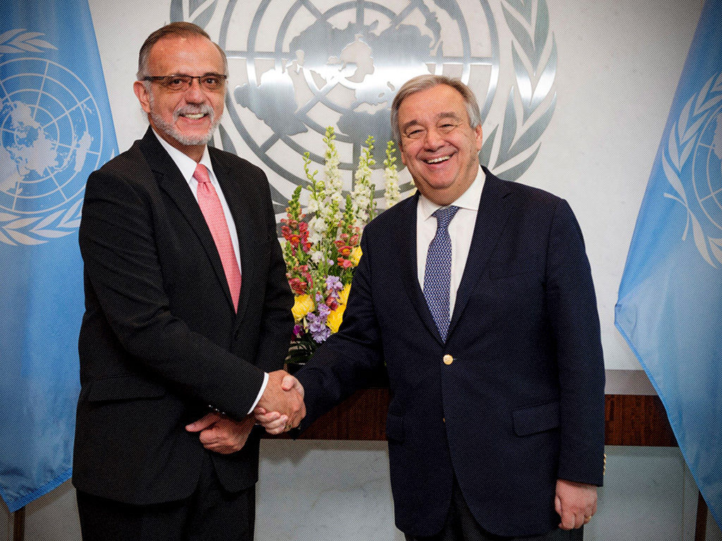 Secretario General de la ONU reitera apoyo a labor del Comisionado Iván Velásquez Gómez