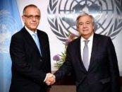 Secretario General de la ONU reafirma apoyo al Comisionado y a la CICIG