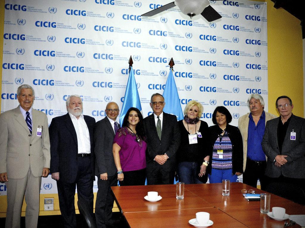 Asamblea contra la Impunidad y la Corrupción reconoce labor del Comisionado Iván Velásquez y la CICIG