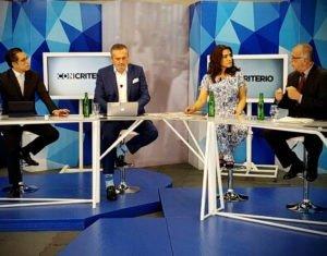 Entrevista en programa con criterio tv