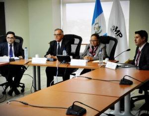 Conferencia de prensa MP y la CICIG