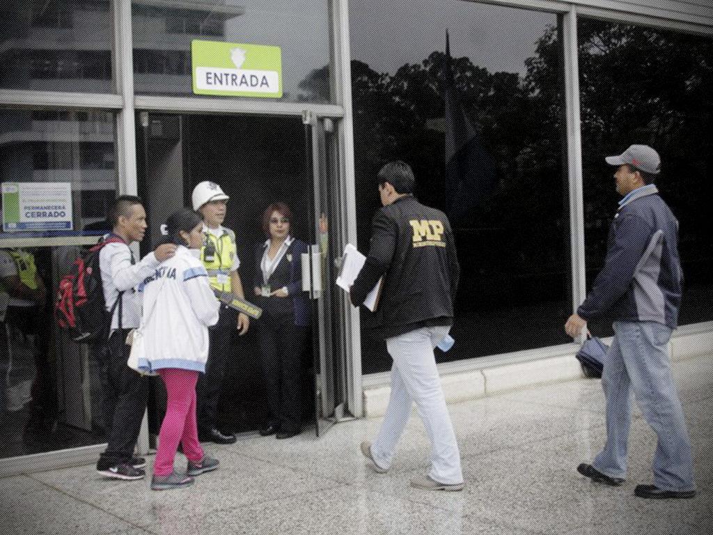 Finaliza allanamiento del Ministerio Público con el apoyo de la CICIG a la Municipalidad de Guatemala