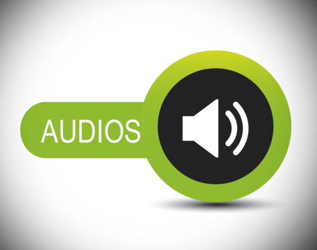 Cápsulas de audio