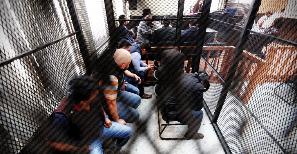 "Members of the criminal structure known as ""Los Huistas"" were bound over for trial"