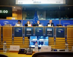 Commissioner Velásquez participated in the European Parliament
